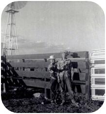 Jodi Stewarts borthers as cowboys