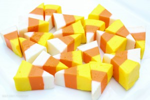Candy-Corn Fudge