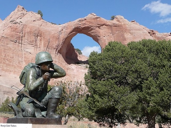 Code Talkers Memorial, Window Rock, AZ
