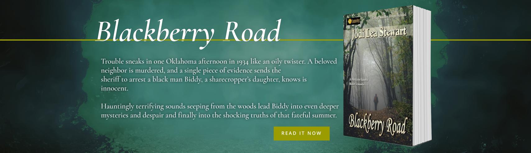 Blackberry Road, an Historic Fiction novel by Jodi Lea Stewart