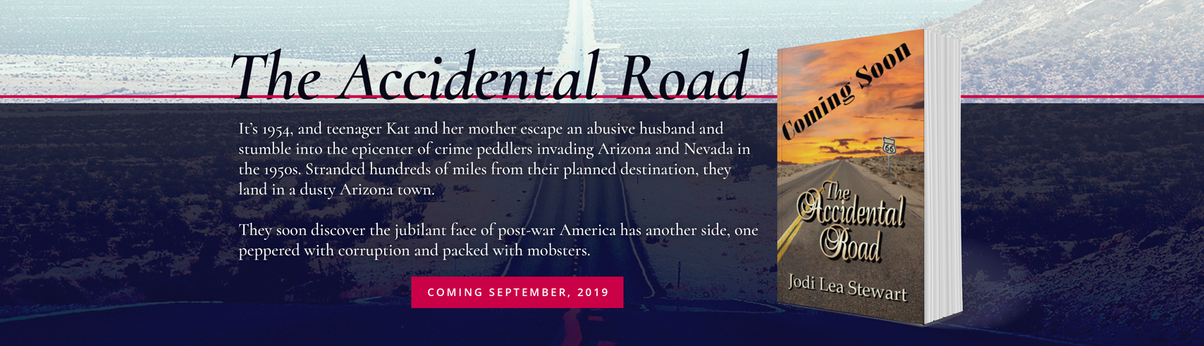 The Accidental Road - an Historic Fiction Novel by Jodi Lea Stewart