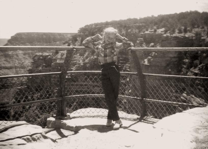 Jodi at the Grand Canyon