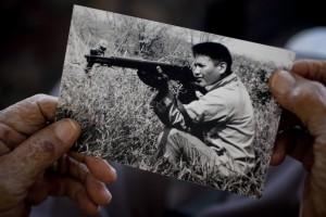 Chester Nez (1921-2014), last of the original WWII Navajo Code Talkers.