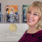 Jodi Lea Stewart Author - with her books
