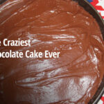The craziest chocolate cake you've ever had