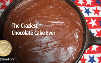 CRAZY CAKE! The Craziest Chocolate Cake Ever